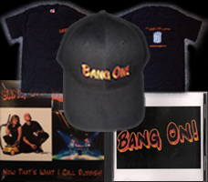 Buy all four: Hat, CD, DVD T-Shirt